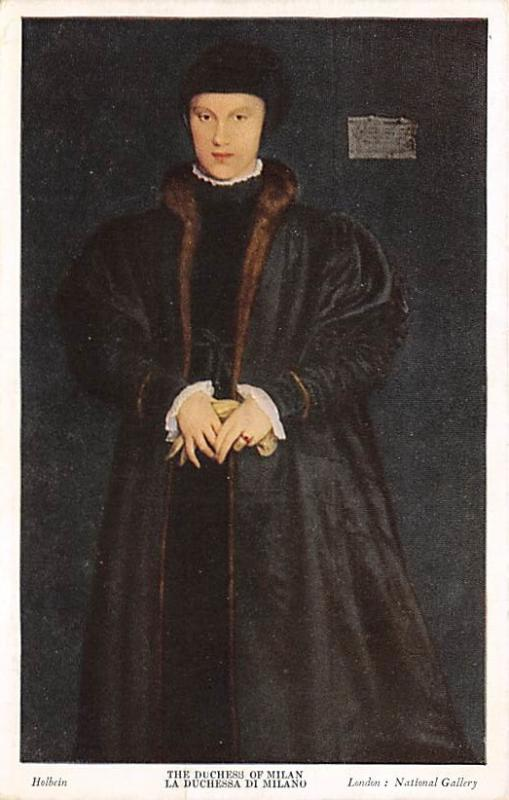 The Duchess of Milan, Holbein Unused