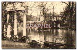 Old Postcard Paris Parc Monceau The Colonnade