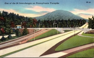 Pennsylvania Turnpike One Of The 24 Interchanges