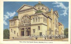 First Baptist Church Charlotte NC Unused