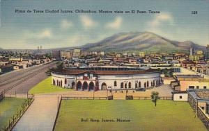 Mexico Juarez Bull Ring Plaza de Toros Ciudad