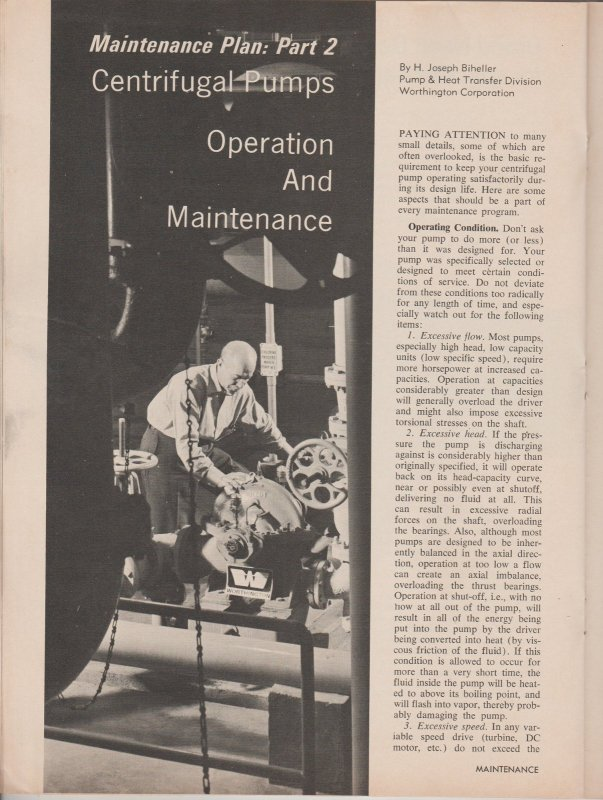 Maintenance Magazine August 1968 Procedures & Products for Better Maintenance