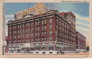 Minnesota Rochester Hotel Zumbro Curteich