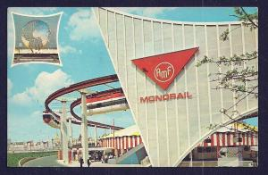 AMF Monorail New York Worlds Fair NY Used c1964