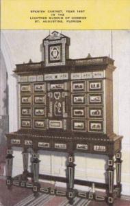 Florida St Augustine Spanish Cabinet Lightner Museum Of Hobbies