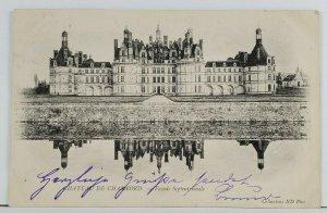 France Chateau De Chambord 1903 to Berlin Postcard Q1