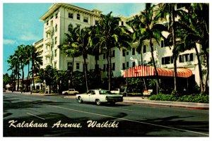 Hawaii  Waikiki  Kalakua Avenue
