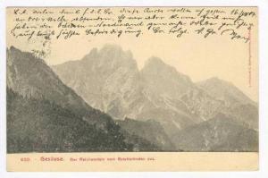 Der Reichenstein Vom Gstatterboden Aus, Gesäuse (Styria), Austria, 00-10s