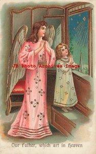 8 Postcard Set, ASB No 264, Lords Prayer, Angels, Children