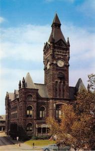 Butler Pennsylvania~Butler County Court House~Built 1885 from Local Stones~1950s