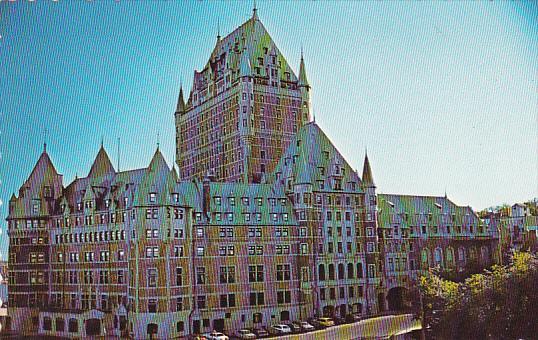 Canada Quebec La Cite Le Chateau Frontenac