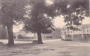 France Luneville Vue du Chateau