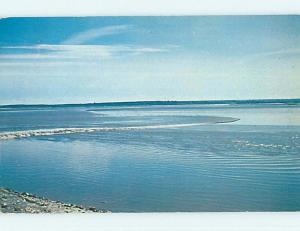 Pre-1980 TOWN VIEW SCENE Moncton New Brunswick NB p9786