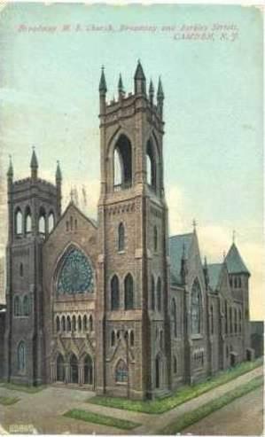 Broadway M. E. Church, Broadway and Berkley Streets, Camden, New Jersey, PU-1908