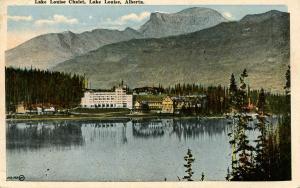 Canada - Alberta. Lake Louise. Lake Louise Chalet