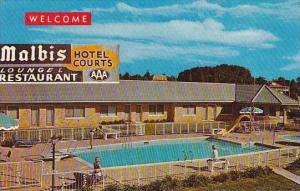 Alabama Mobile Malbis Hotel Courts