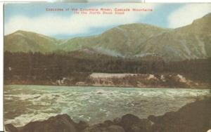 Cascades of the Columbia River, Cascade Mountains, On the...