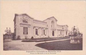 France Marseilles Exposition Coloniale 1922 Palais de Marseille et de la Prov...