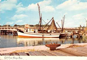 Ocean Springs, Mississippi - Gulf Coast Shrimp Boats
