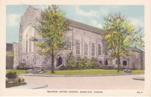 Melrose United Church - Hamilton ON, Ontario, Canada