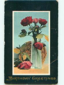 Divided-Back BEAUTIFUL FLOWERS SCENE Great Postcard AA3370