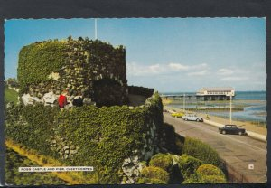 Lincolnshire Postcard - Ross Castle and Pier, Cleethorpes    T6738