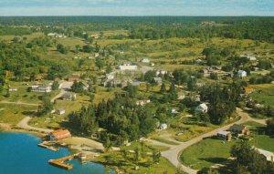 PORT LORING , Ontario , 1950-60s , Bird's Eye view