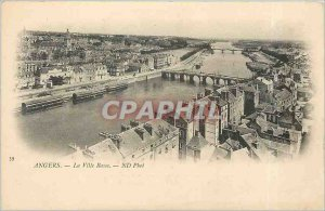 Old Postcard Angers Lower City