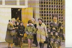 Canada Postcard - Canadian Mothers Union Leaving St John's Church Halifax TZ6061