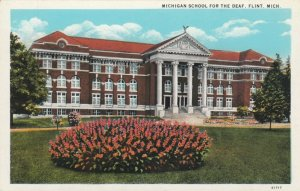 FLINT, Michigan, 1910-20s; Michigan School For The Deaf