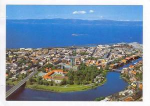 Aerial View Of Trondheim, Utsikt Over Byen, The Town Seen From The Air, Norwa...