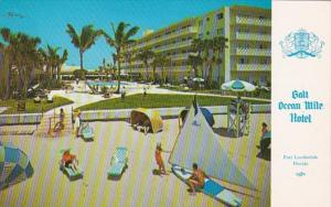 Florida Fort Lauderdale Gault Ocean Mile Hotel 1967