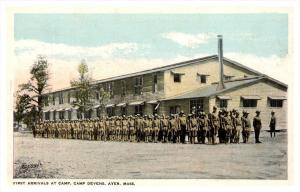 21933   MA Ayer  Camp Devens   First Arrivals