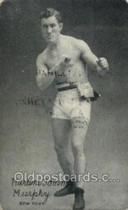 Harlem Tommy Murphy New York USA Boxer, Boxing Old Vintage Antique Postcard P...