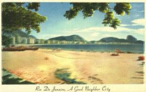 Brazil, Rio De Janeiro, A Good Neighbor City, Copacabana ...