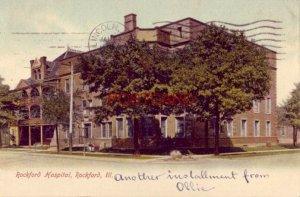 pre-1907 ROCKFORD HOSPITAL, ILLINOIS 1907