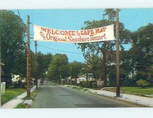 Unused Pre-1980 STREET SCENE Cape May New Jersey NJ hp1903