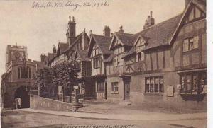 The Leicester Hospital, Warwick (Warwickshire), England, UK, 1900-1910s