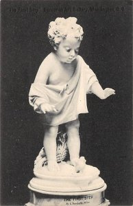 Statues / Monuments Postcard The First Step By E Trombetta, Milan Unused