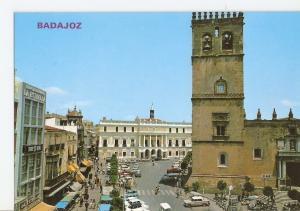 Postal 025983 : Plaza de Espa? y Catedral. Badajoz