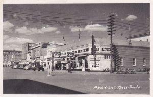 RP: MOOSE JAW , Saskatchewan , Canada , 1930-40s ;Main Street ;  Version-2