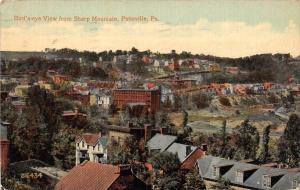 19760  Aerial  View of from Pottsville PA   from  Sharp Mountain