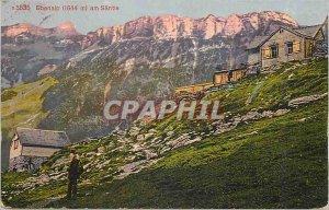 Postcard Old Ebenalp am Santis