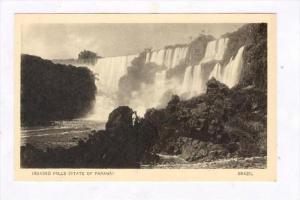 Iguassu  Falls, State Of Parana, Brazil, 1900-1910s