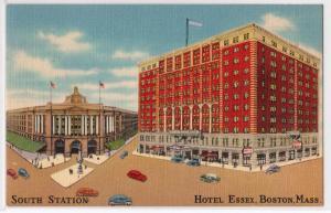 South Station, Hotel Essex, Boston MA