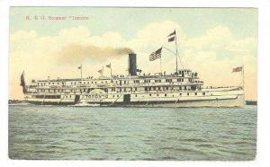 Steamer/Ship, R. & O. Steamer Toronto, 1900-1910s