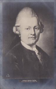 Gotthold Ephraim Lessing German Writer