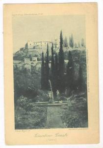 Giardino Giusti, Verona, Italy, 1890s