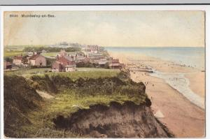 Norfolk; Mundesley On Sea PPC By Photochrom, 1910, To Mrs Owen, Greenwich Park