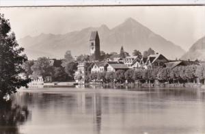 Switzerland Unterseen Panorama Photo